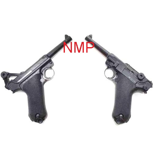 KWC 4.5mm BB Air Pistol - Model ( P08 Luger ) - Blowback Full Metal Slide CO2 ( KWCKMB41AHN ) ( 21 Shot metal BB )