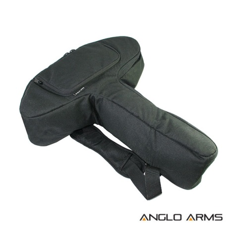 Pistol Crossbow Black Padded Bag Anglo Arms 56cm x 48cm x 13cm