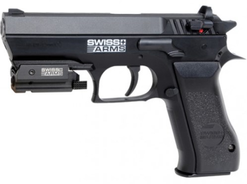Swiss Arms SA 941, ( Cybergun Jericho 941 ) Metal CO2 Pistol 4.5mm (22 shot BB )