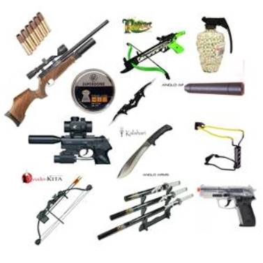 ALL WEAPONRY & ACCESSORIES