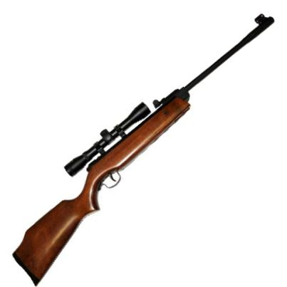 Webley Cub Junior Spring Air Rifle with 4 x 32 scope in .22 calibre
