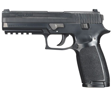 Sig Sauer P250 Black CO2 .177 Polymer Blowback ( 16 shot pellet )
